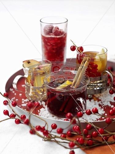 winter christmas drinks