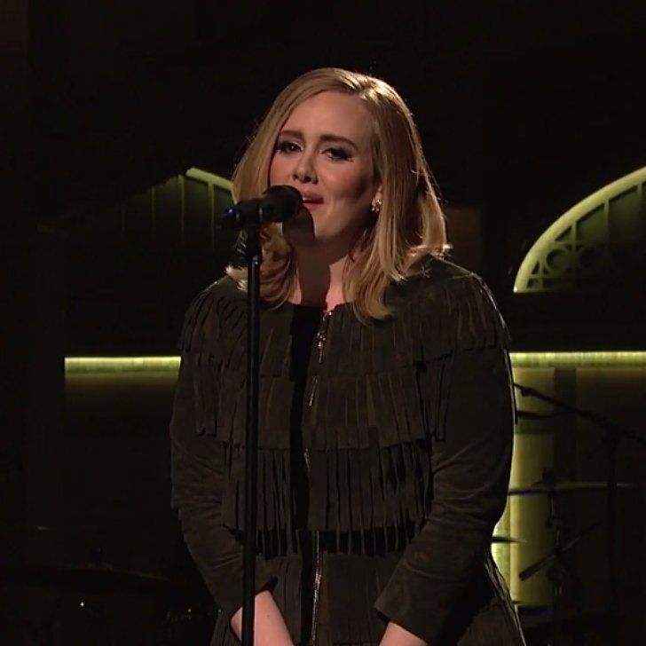 Adele's SNL Performance of When We Were Young