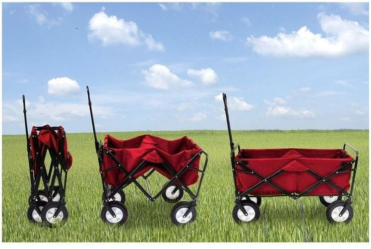Wheelbarrow Rolling Tote Wagon Great for Home Or Office
