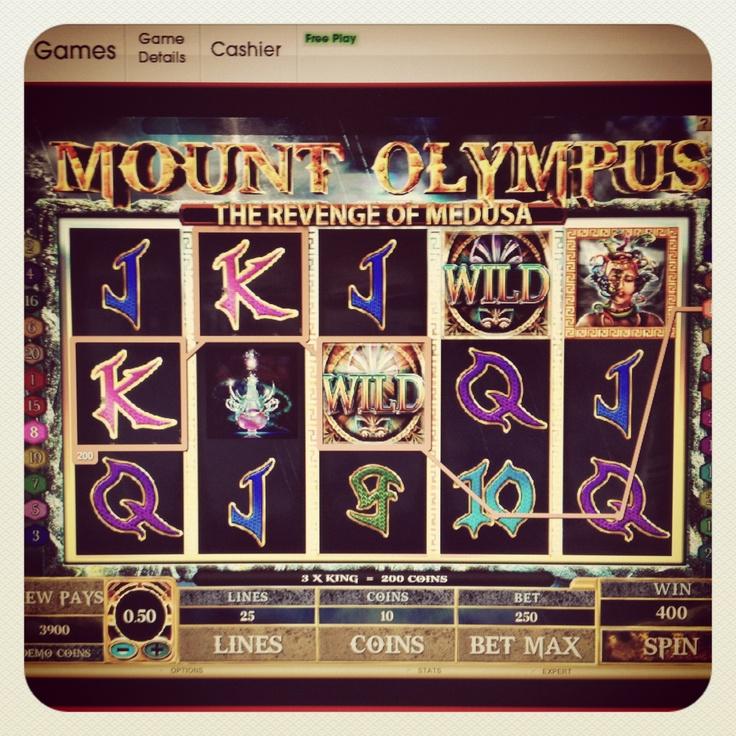 Mount Olympus: The Revenge of Medusa @Virgin Casino