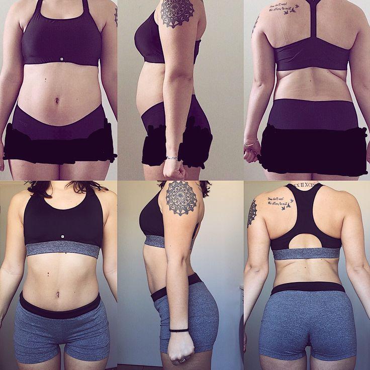 Première photo : évolution en 1 an !! (Nov 2016 // Nov 2017) 58kg (40kg MM 26% MG) -> 49.4kg (39kg MM 196% MG)  Deuxième photo : évolution sur deux mois avec le coaching de @yohann_cvs (Sep 2017 // Nov 2017) 521kg (383kg MM 225% MG) -> 49.4kg (39kg MM 196% MG)  Bilan : - Sur 1 an bonne évolution je trouve reprise de confiance meilleure alimentation reprise du sport de manière adaptée à ma santé - Sur deux mois on commence à voir les muscles qui se dessinent plus jai plus dassurance et je me…