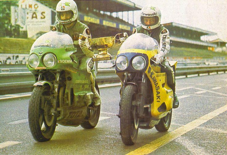 Clasp Garage: Godier Genoud Kawasaki, Bol d'or 1974