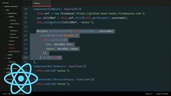 React tutorial about Building a React.js App: componentWillReceiveProps and React Router