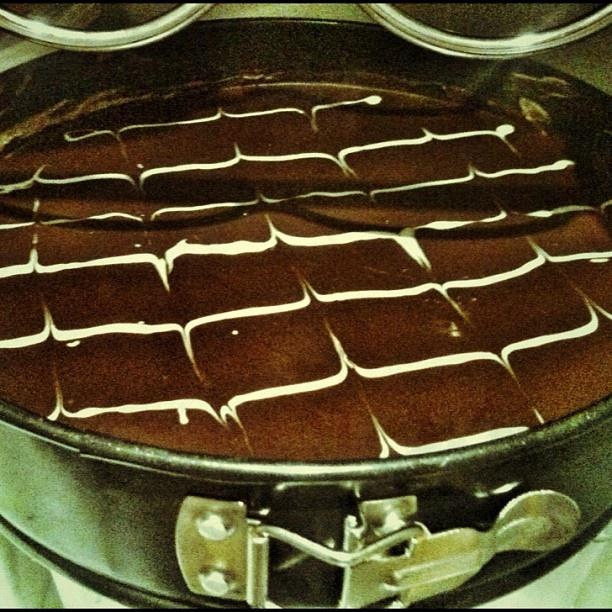 Anche noi abbiamo un masterchef in agenzia: triple chocolate cheesecake