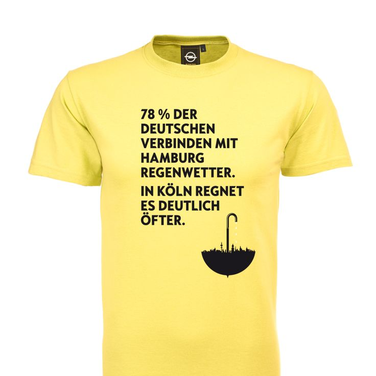 """What a nice Opel-shirt, from the current campaign """"Umparken im Kopf"""""""
