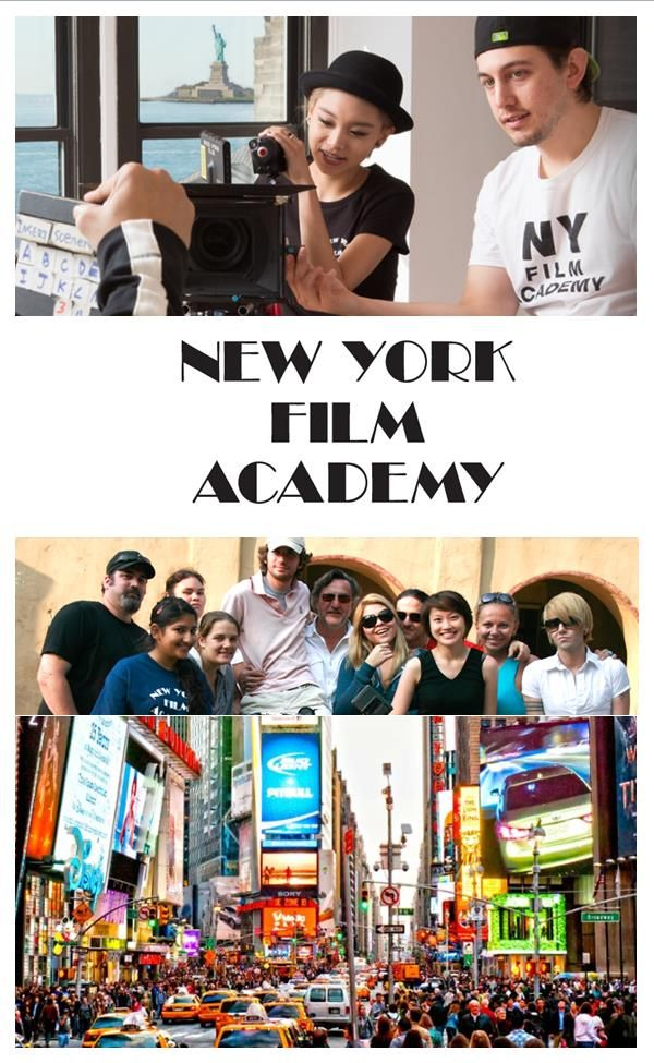 The New York Film Academy offers the most hands-on and intensive programs in the world. NYFA is the largest filmmaking and acting school in the United States. Each year hundreds of students of all backgrounds and nationalities experience the extraordinary, hands-on education offered at the New York Film Academy. Visit www.NYFA.edu for more information.