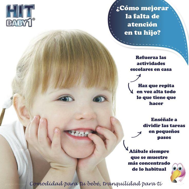 ¿Cómo puedes ayudar a tu hijo a mejorar su falta de atención? #niños #concentración #atención #educación http://bloghitbabyone.com/2015/03/02/como-saber-si-mi-hijo-tiene-problemas-con-la-concentracion/