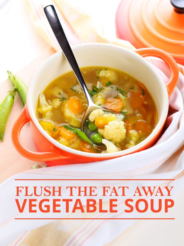 Flush The Fat Away Vegetable Soup