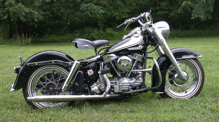 1963 Harley Davidson panhead FLH from Wolverine: X-men Origins
