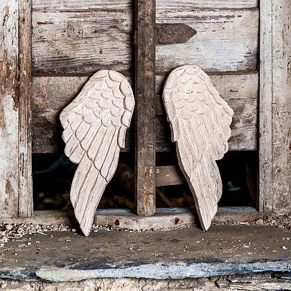 Pair of Carved Wings