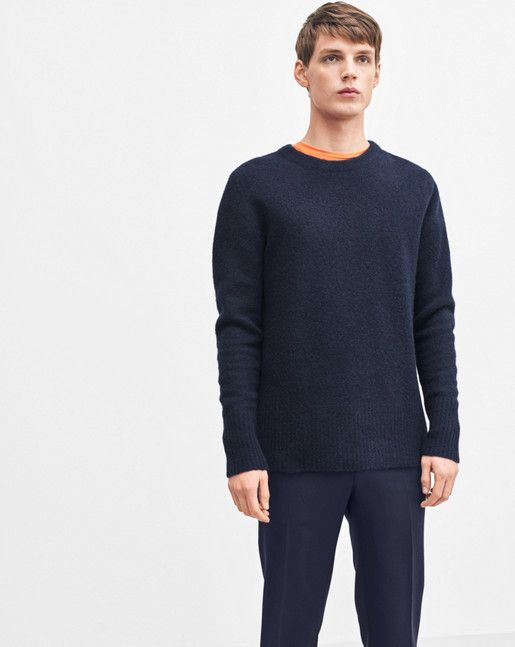 Light Yak Sweater Navy