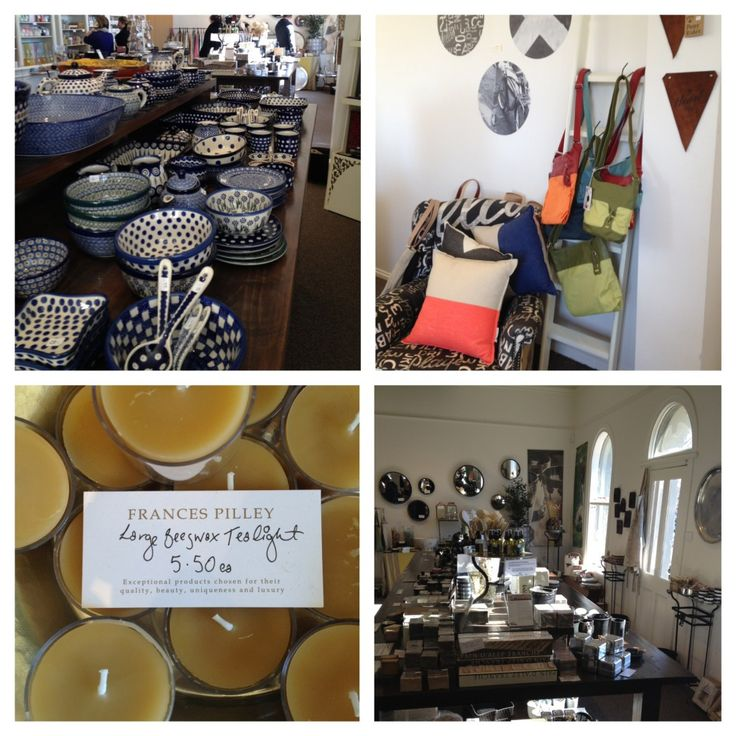 Frances Pilley - Gift and Homewares. 28 Vincent St, Daylesford.