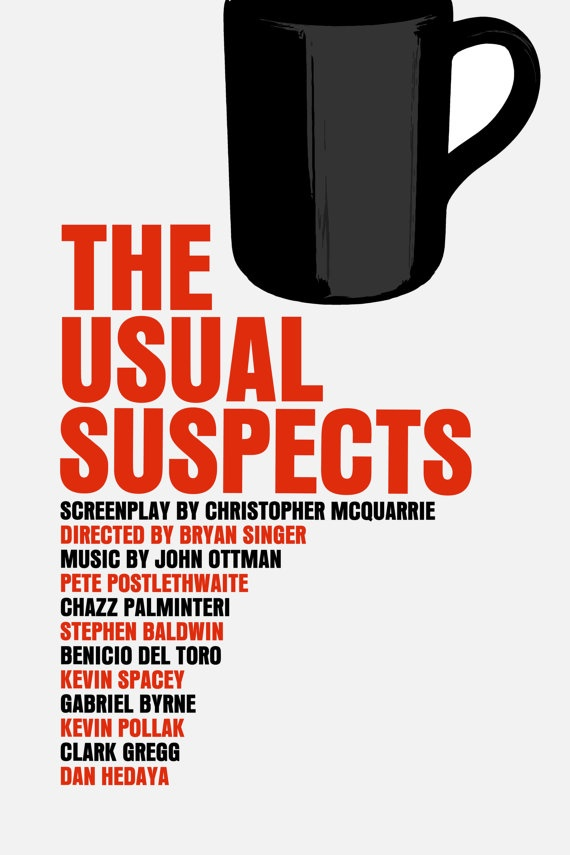 essay on the usual suspects The usual suspects details: 1995, usa, cert 18,  2 out of 5 a story of children  and film review – mark cousins's 'spine-tingling' visual essay 4 out of 5.