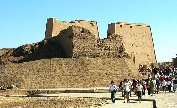 Edfu, Temple, New Year Holidays in Egypt http://www.shaspo.com/new-year-holidays-in-egypt-hot-deals