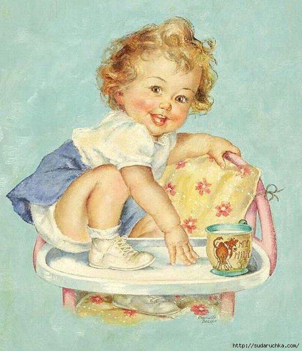 Малыши открытки картинки, леди баг
