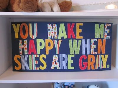 DIY Fabric Board Tutorial! Use any quote or lyric that is meaningful to you!