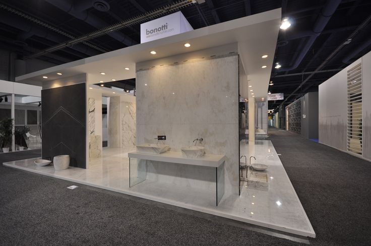 Bonotti Stone Trading International booth at #Coverings2014 #LasVegas  #Exhibition #Booth #InteriorDesign #Marble