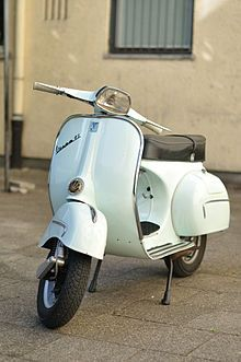 1962 Vespa...just bought an old vespa Sprint, similar to this one but sea-foam green.