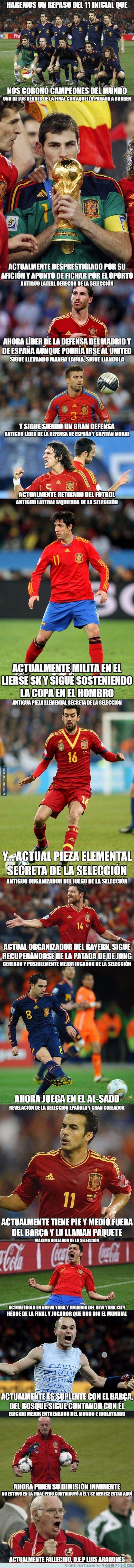 621364 - Resumen del 11 de la selección española que nos dio el Mundial