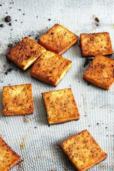 Baked Balsamic Tofu // 24 Carrot Life #vegetarian #vegan #healthy