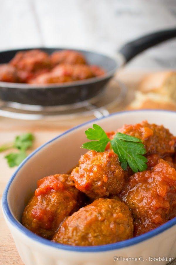 τα σουτζουκάκια της γιαγιάς - meatballs in tomato, wine and cumin sauce