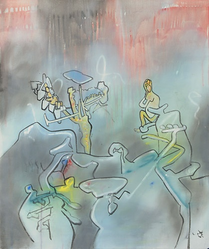 Roberto Matta, Untitled, (RM 1065)  Discover the coolest shows in New York at www.artexperience.com