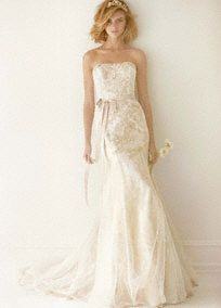 Davids Bridal Woman | MS251052 | Very pretty - not sure if it would work with my body shape, though.