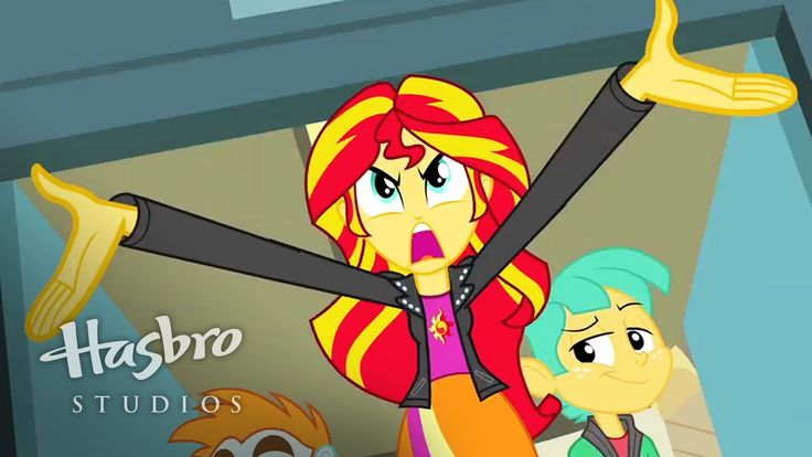 MY LITTLE PONY: Equestria Girls - Conoce a Sunset Shimmer