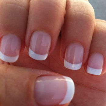 A perfect job! Gel French manicure by Tu. She always does a great job. | Yelp