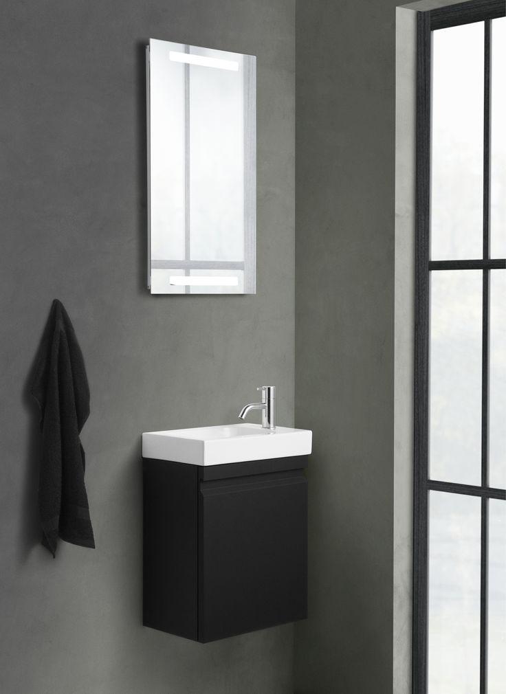 Micro Menuet washbasin for the small and narrow bathroom.