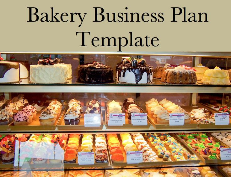 Bakery Business Plan Sample