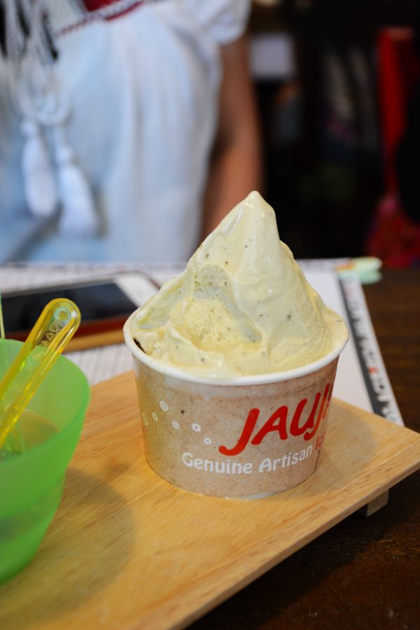 Green Tea - Helados Jauja artisan icecreams - thespiceadventuress.com