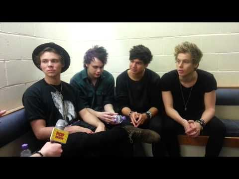 5SOS - Interview With Pop Scoop! I saw the Lego Movie too. I liked it.