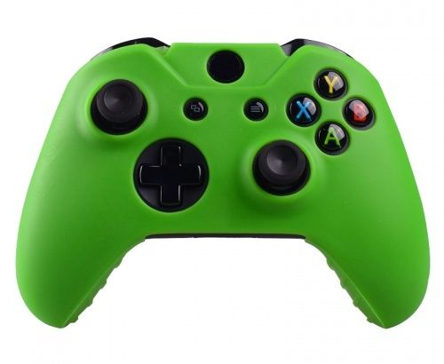 Green Silicone Protective Case for Xbox One offers the user an ideal protection against scratches and other damage.