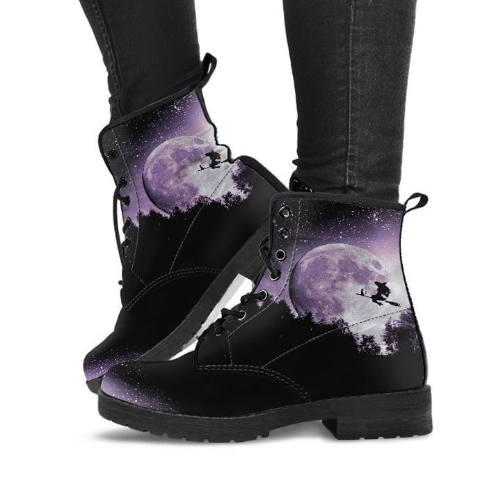 Full Moon Ride - Vegan Boots