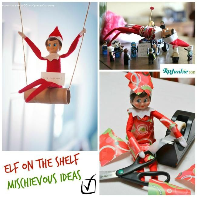 60 Best Images About Christmas Elf On The Shelf On