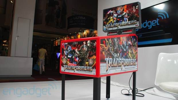Stern Pinball's Transformers Pin home game