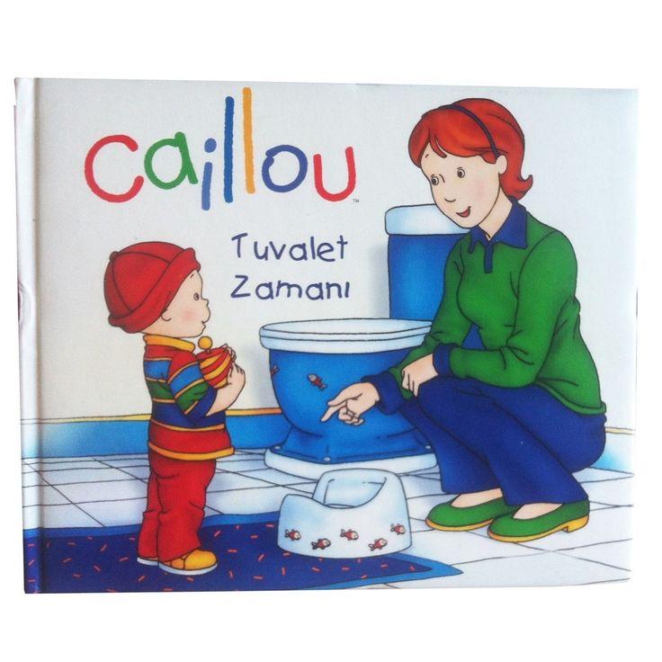Caillou Tuvalet Zamanı Eğitici Kitap