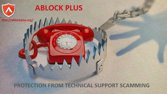 If you can observe annoying and unwanted pop ups on your system then it can be due to technical support scam that you are not aware of. To stop such ads install Ablock Plus.