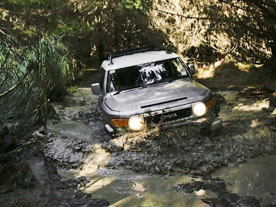 FJ Cruiser Off Road  Vehicle  Pinterest  All Offroad and Toyota