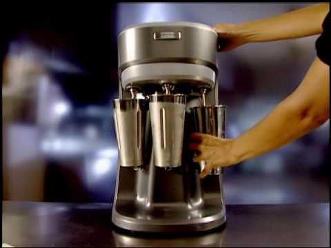Voiceover with actions/closeups - Hamilton Beach® Commercial Drink Mixers (HMD200 & HMD400) - YouTube