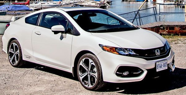 2015 Honda Civic Coupe — 2015 Coolest New Cars For Under $18000 Dollars