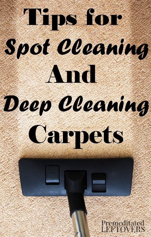 how to clean your carpet at home