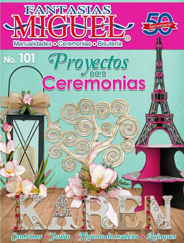 Proyectos para Ceremonias  Fantasias Miguel No. 101