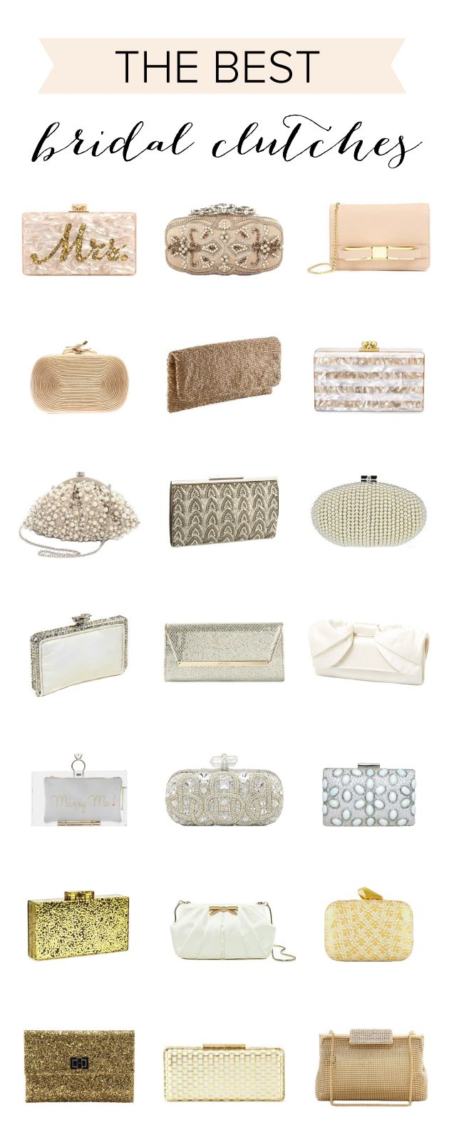 The Most Beautiful Bridal Clutches for Your Big Day!