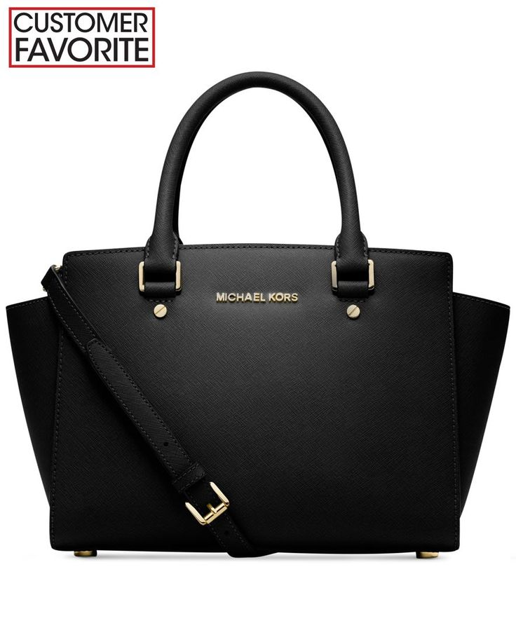 *It's so beautiful. Current dream bag.* MICHAEL Michael Kors Handbag, Selma Medium Satchel - Handbags & Accessories - Macy's