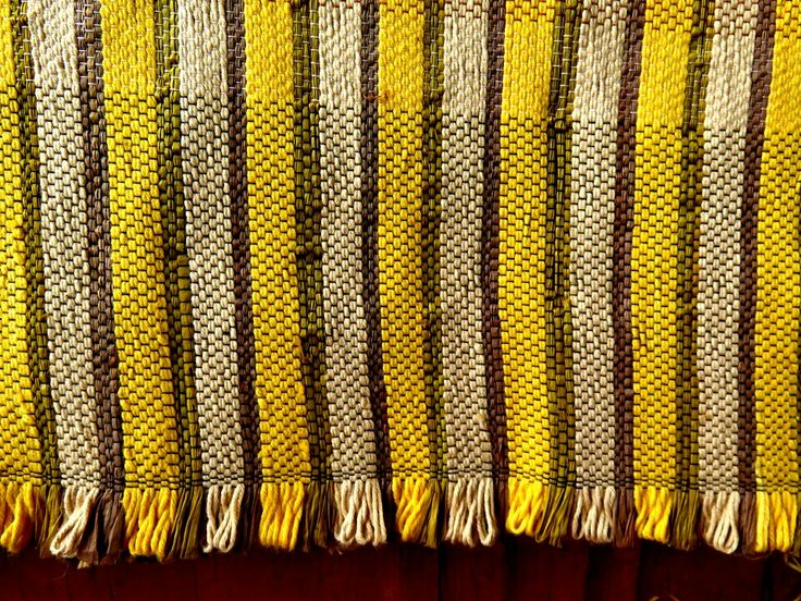 Raffia fabric with cotton