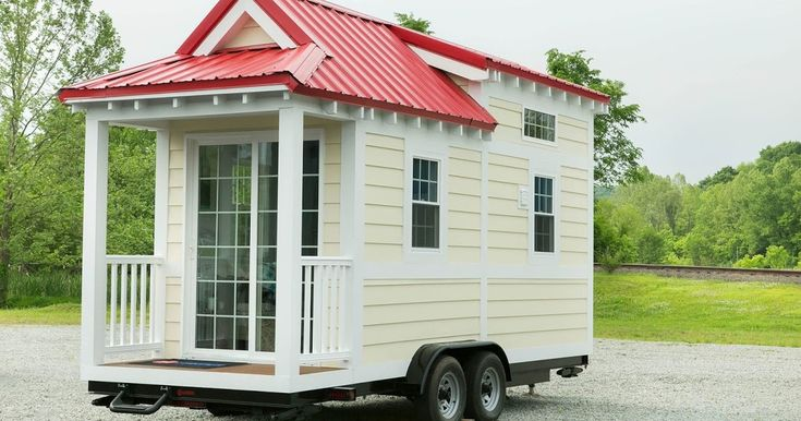 The Shonsie, by 84 Lumber, is a tiny house available in three different stages, depending on how involved you'd like to be in building your own tiny house.