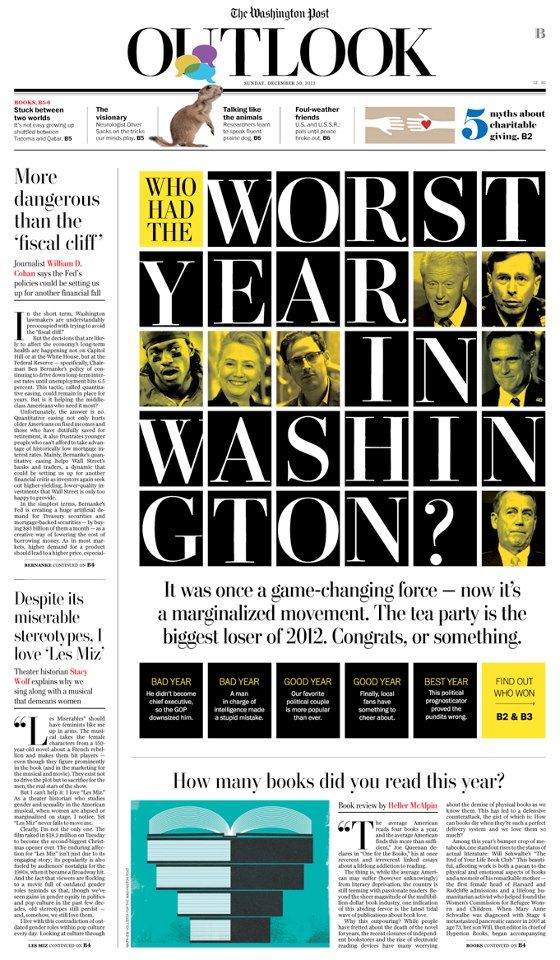 Who had the worst year in Washington? - Newspaper Design