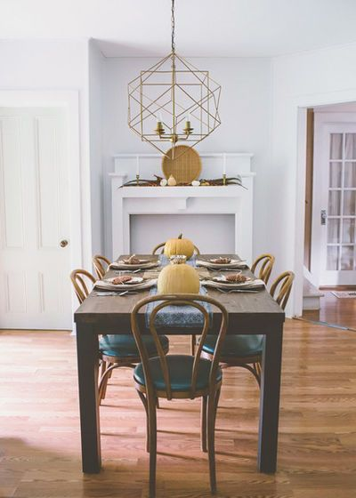 Southwestern Dining Room by Raymour & Flanigan Furniture and Mattresses